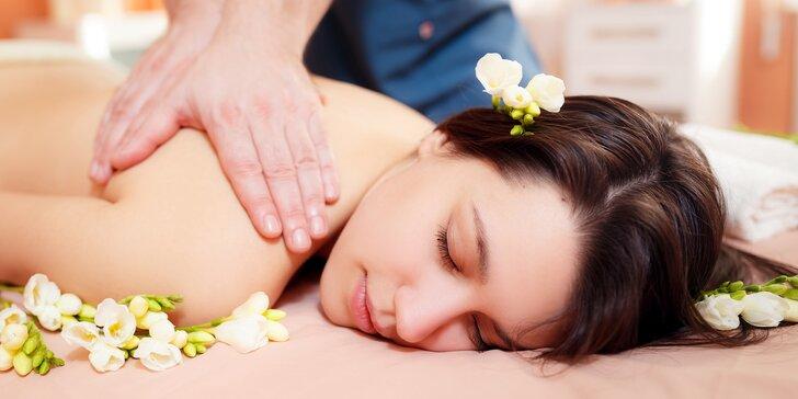 Thajské pohlazení: 60minutová masáž podle výběru v centru města