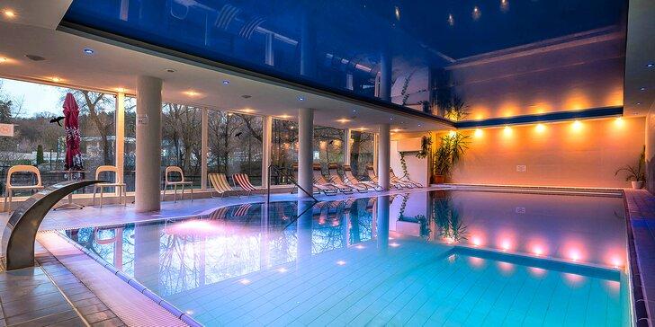 Bohaté wellness v lázeňském městě s bazénem i polopenzí pro 1 či pro 2