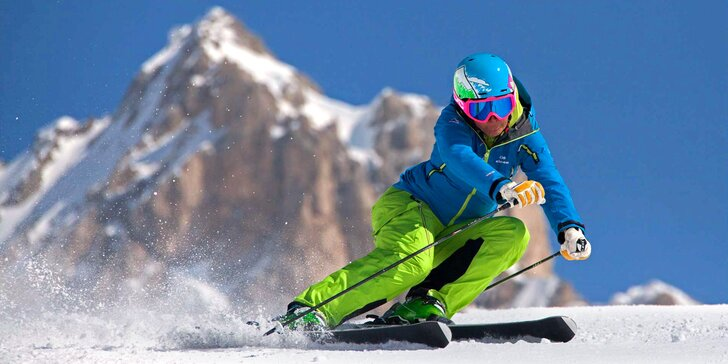 Na lyže do Falcade: 2 noci, 4* hotel, wellness, doprava, skipas i polopenze