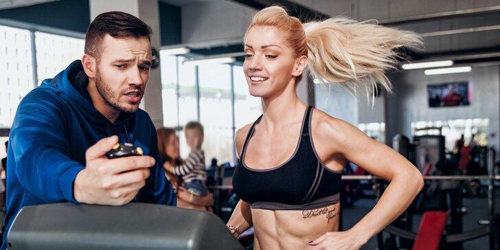 Nakopněte svoji kondici: 1–10 osobních tréninků ve fitness s profi trenérkou