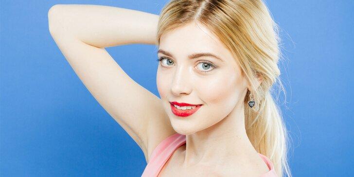 60minutové kosmetické ošetření obličeje a dekoltu na míru