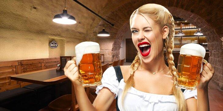 Oktoberfest ve Šnytu 26. až 29. září: tuplák festivalového piva z Mnichova