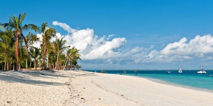 Exotický Zanzibar: plná penze, light inclusive nápoje a neskutečná pohoda