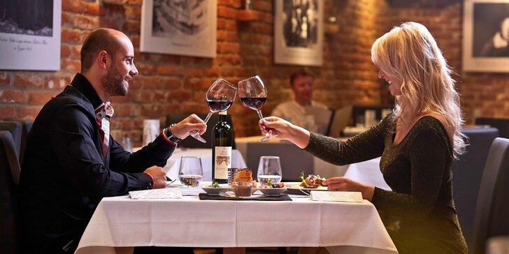 Degustační menu ve vyhlášeném Restaurantu Albert Málek a VIP relaxace