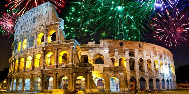 Silvestrovská noc v Římě: ubytování, doprava, památky i výlet do Vatikánu