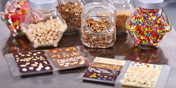 Čokoškola, která baví i chutná: kurzy výroby čokolády včetně ochutnávek