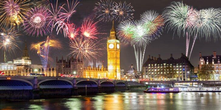 Na silvestra do Londýna: doprava, hotel se snídaní, London Eye i Greenwich
