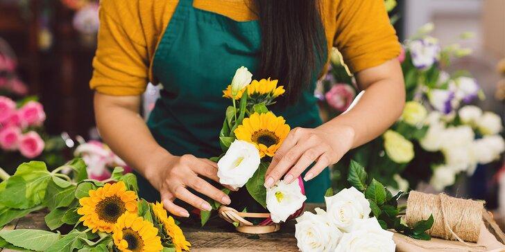 Zpříjemněte si podzim tvořením z květin: floristický kurz dle výběru