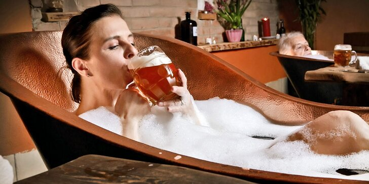 Rožnovské pivní lázně: Pivní doktorát s degustací nebo procedury v lázních
