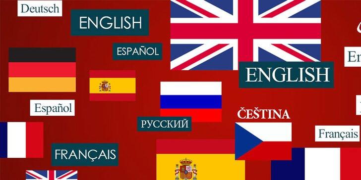 Otevřený voucher na podzimní kurzy v jazykové škole