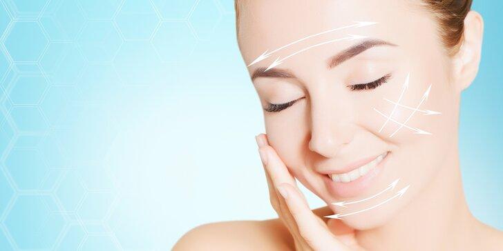 Ošetření obličeje, očního okolí či podbradku metodou Ulthera LIFT