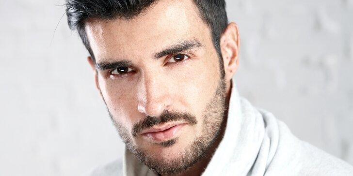 Luxusní pánské kosmetické ošetření pletí španělskou kosmetikou Skeyndor