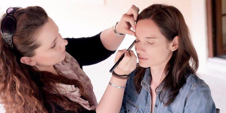 Individuální kurz líčení s profesionální vizážistkou