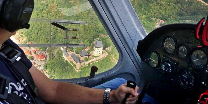Seznamovací let v letadle Cessna: 20 minut ve vzduchu včetně pilotování