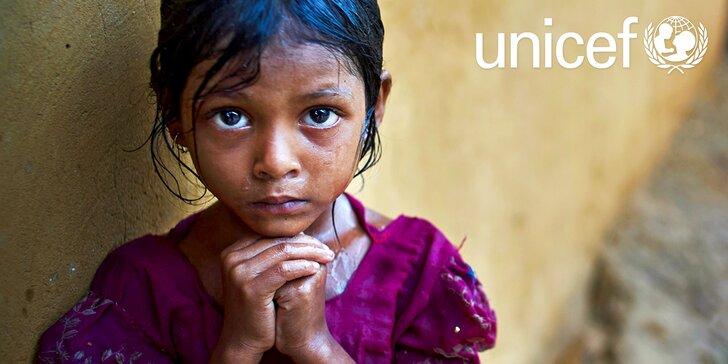Pomozte s UNICEF dětem na Filipínách, které zasáhl tajfun Mangkhut