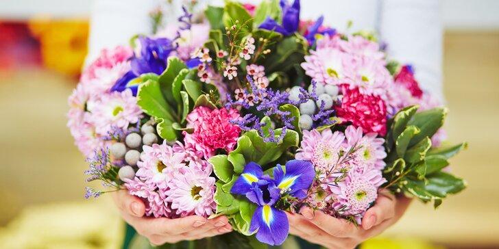 Vykouzlete ženě úsměv: vouchery na květinové vazby podle vašeho přání