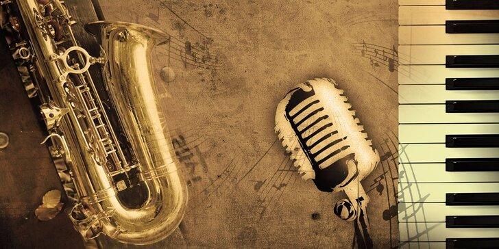 Vstupenka na swingový koncert: skladby J. Ježka, G. Millera i G. Gershwina
