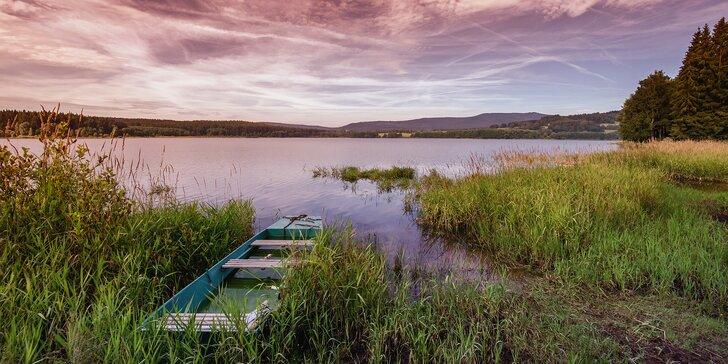 Pobyt pro 2 u Lipna: 3–8 dní v jižních Čechách s polopenzí a vířivkou