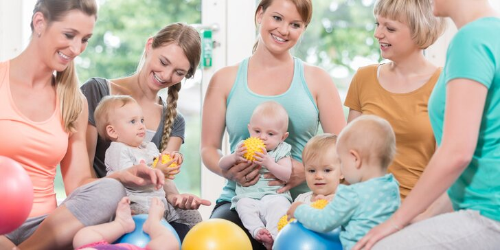 Aktivní i na mateřské: cvičení pro maminky s miminky - vstup i permanentka