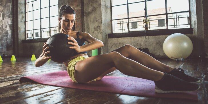 Rozhýbejte tělo: permanentka do fitness na 10 moderních skupinových lekcí
