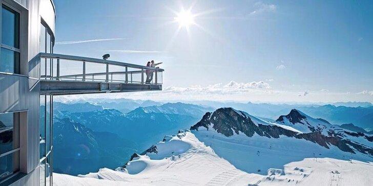 1denní lyžovačka v oblíbené rakouské oblasti Zell am See / Kaprun