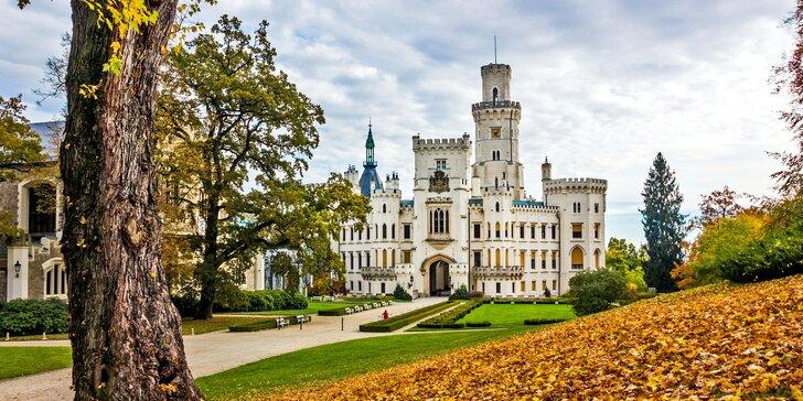 Romantika v podzámčí: 3 dny v Hluboké nad Vltavou jen pár kroků od zámku