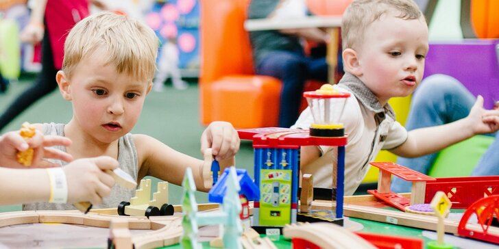 Kdo si hraje, nezlobí: 3hodinový vstup do dětské herničky pro malé i velké