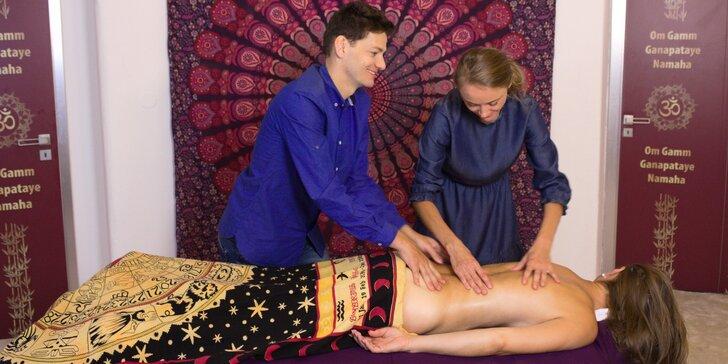 Hodinová individuální výuka masáží: teorie i praktický nácvik