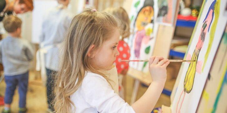Kreativní výtvarné kurzy pro děti v Ateliéru Art Generace