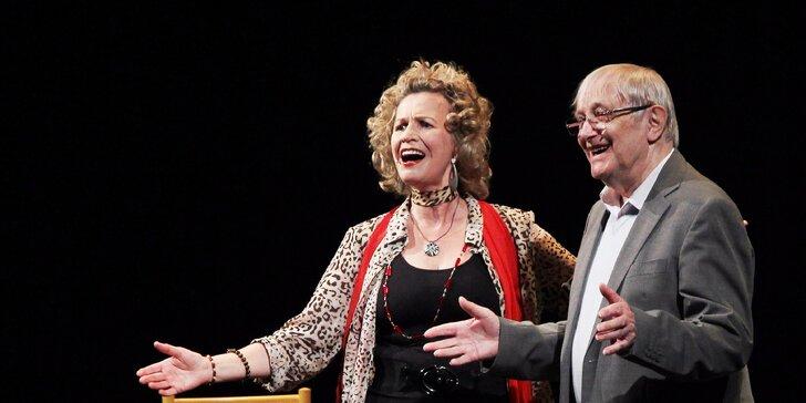 Vstupenka na představení Prsten pana Nibelunga v divadle Semafor