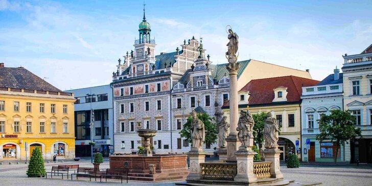 Romance v Kolíně: Pobyt na 3 dny se snídaní, soukromým wellness a sektem