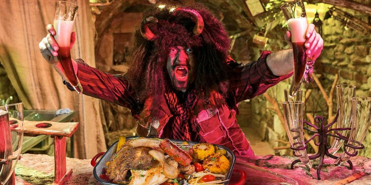 Silvestr v Pekle Čertovina: all inclusive obžerství i s nápoji a zábava až do rána