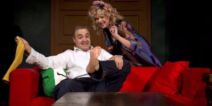 Vstupenka na divadelní komedii v hradecké Filharmonii: Byt na inzerát