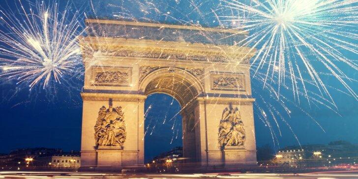 Silvestrovský výlet do kouzelné Paříže na otočku vč. sektu do páru