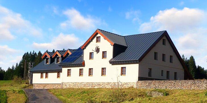 Podzim na Šumavě: nové apartmány mezi Modravou a Kvildou s polopenzí