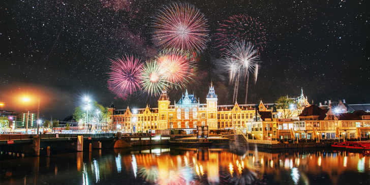 Oslavte Silvestr v Amsterdamu: ubytování na 1 noc včetně snídaně a průvodce