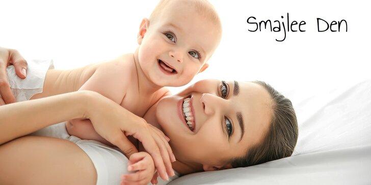 Základní a rozšířené vstupné na Smajlee den - veletrh pro maminky i děti