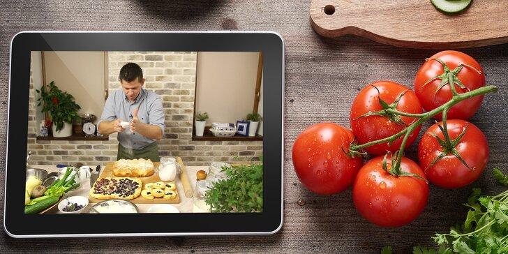 2 přístupy k 50 online videokurzům vaření – zdokonalte své kuchařské umění