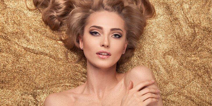 Ošetření pleti přírodní kosmetikou Karel Hádek + ultrazvuková špachtle