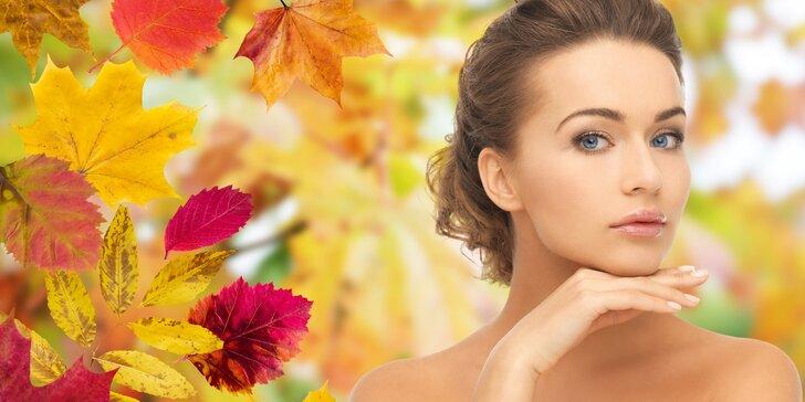 Kosmetická kúra s okamžitým liftingovým efektem včetně barvení obočí