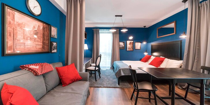 2-7 nocí v luxusně vybaveném apartmánu a vstup do Muzea Iluzí pro 2