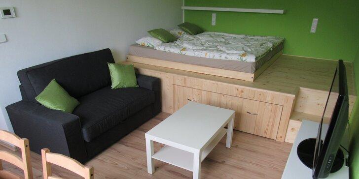 Podzim v útulném apartmánu v centru Šumavy až pro 4 osoby