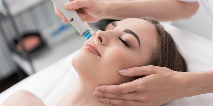 Hloubková péče: Kosmetické ošetření pleti diamantovou mikrodermabrazí