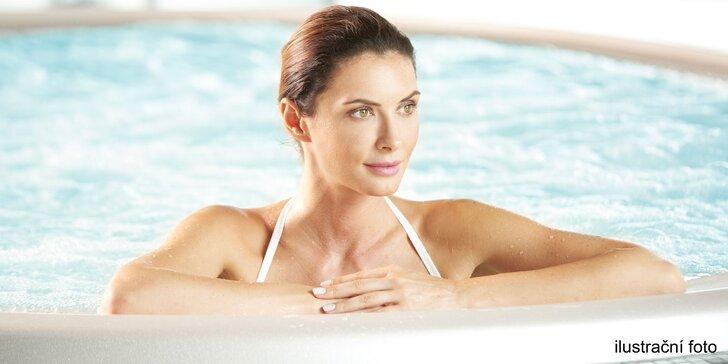 Privátní wellness pro 2 osoby: vířivka, sauna, bazén i bylinný zábal