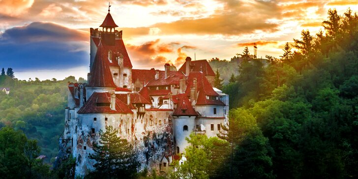 Poznávací zájezd do Rumunska s polopenzí: Drákulův hrad i krásné hory