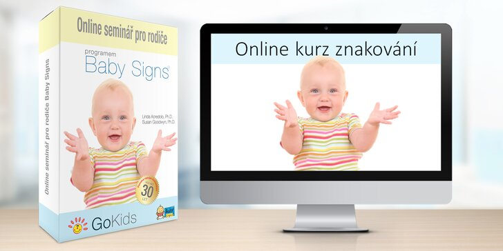 Online kurz znakování pro rodiče miminek a batolat s ročním přístupem