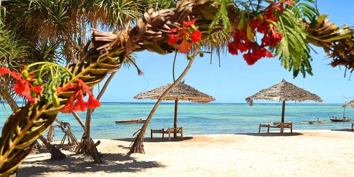 3* hotel na Zanzibaru: 6-12 nocí, all inclusive light, 2 bazény, pláž u hotelu