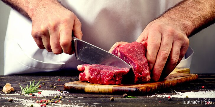 Kurz s Janem Rimplerem: připravte minutková masa jako šéfkuchař