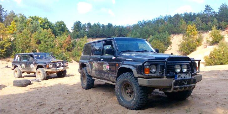 Nic vás nezastaví: jízda Hummerem H2 nebo offroadem Nissan Patrol