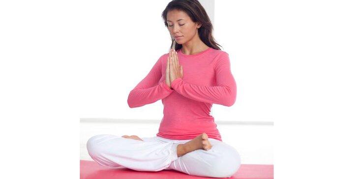 Protáhněte tělo: 1 nebo 10 vstupů na lekci jógy ve Šternberku